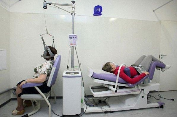 аппараты для скелетного вытяжения позвоночника