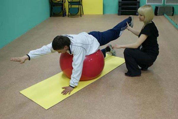 упражнение при болях в спине