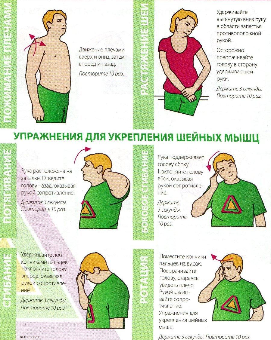 Массаж грудного отдела позвоночника методика