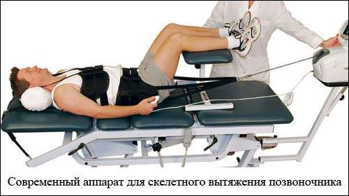 аппарат для вытяжения позвоночника