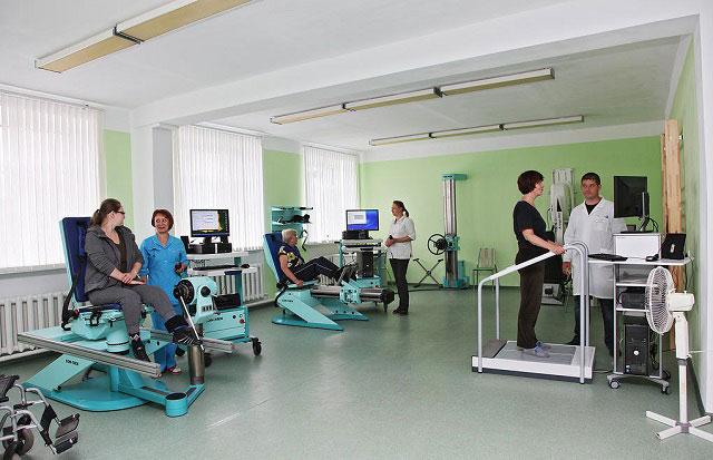 занятия в реабилитационном центре в россии