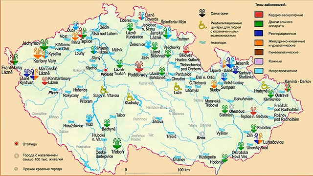 чешские курорты